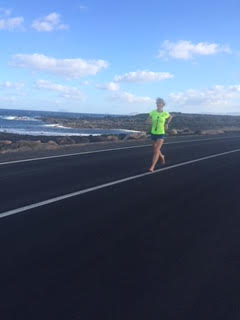 Training over the winter Solstice on Lanzarote