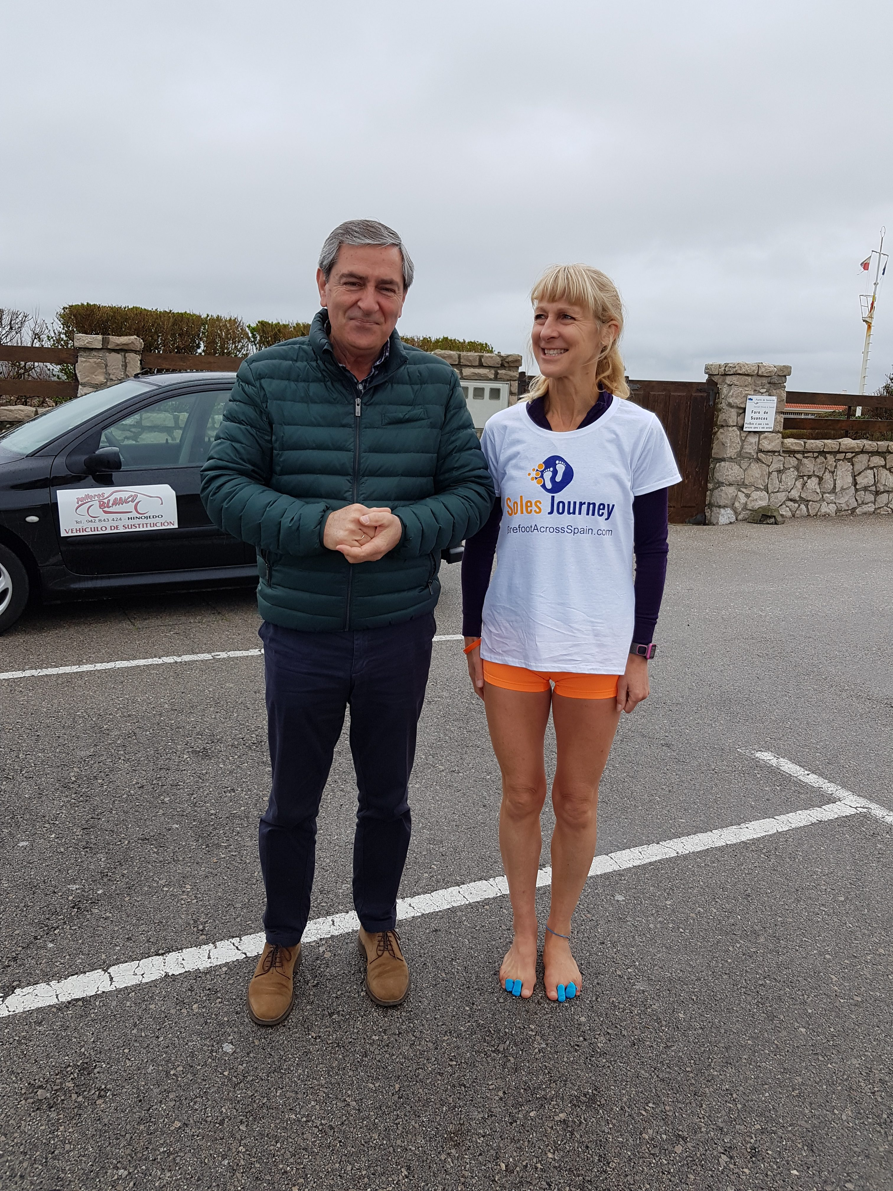 Day 1 – Interview while meeting the Mayor of Suances