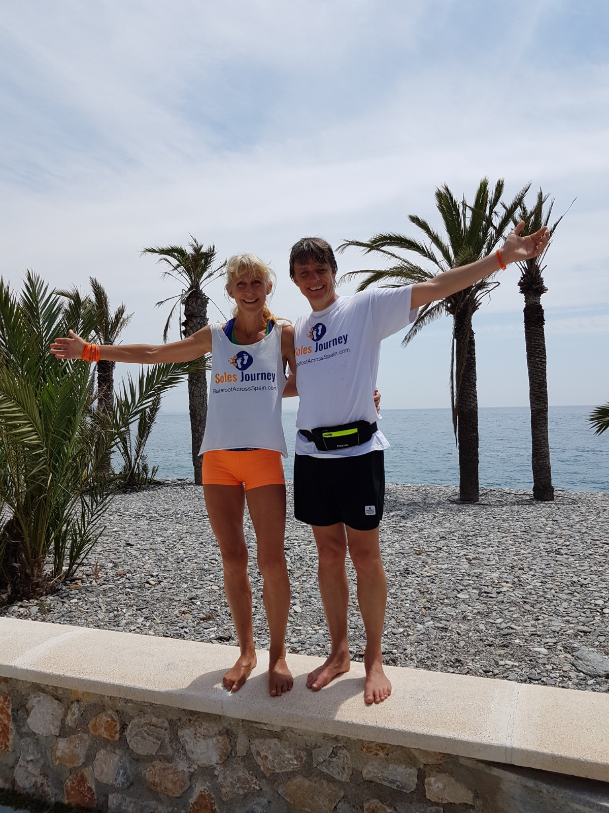 Anadi interviews me about the physical challenges running Barefoot Across Spain. No 2