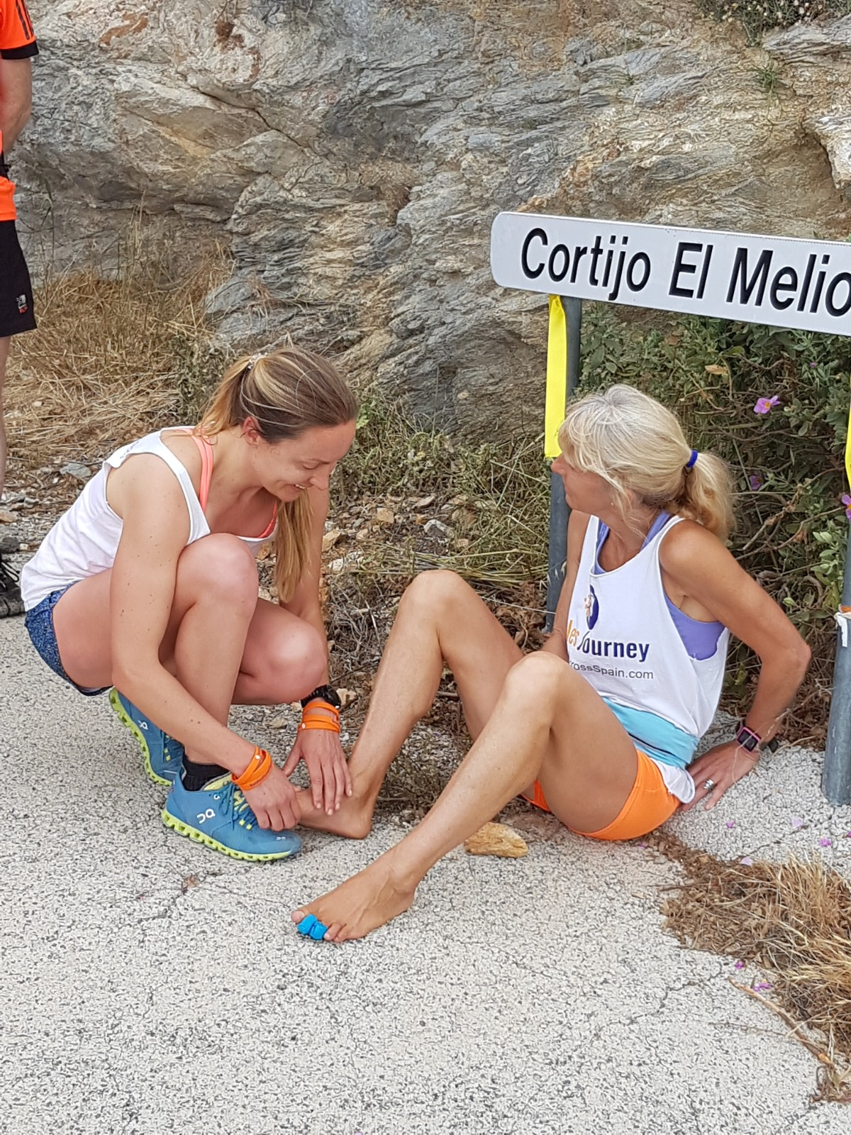 This is the second interview with Anadi about Barefoot Across Spain…
