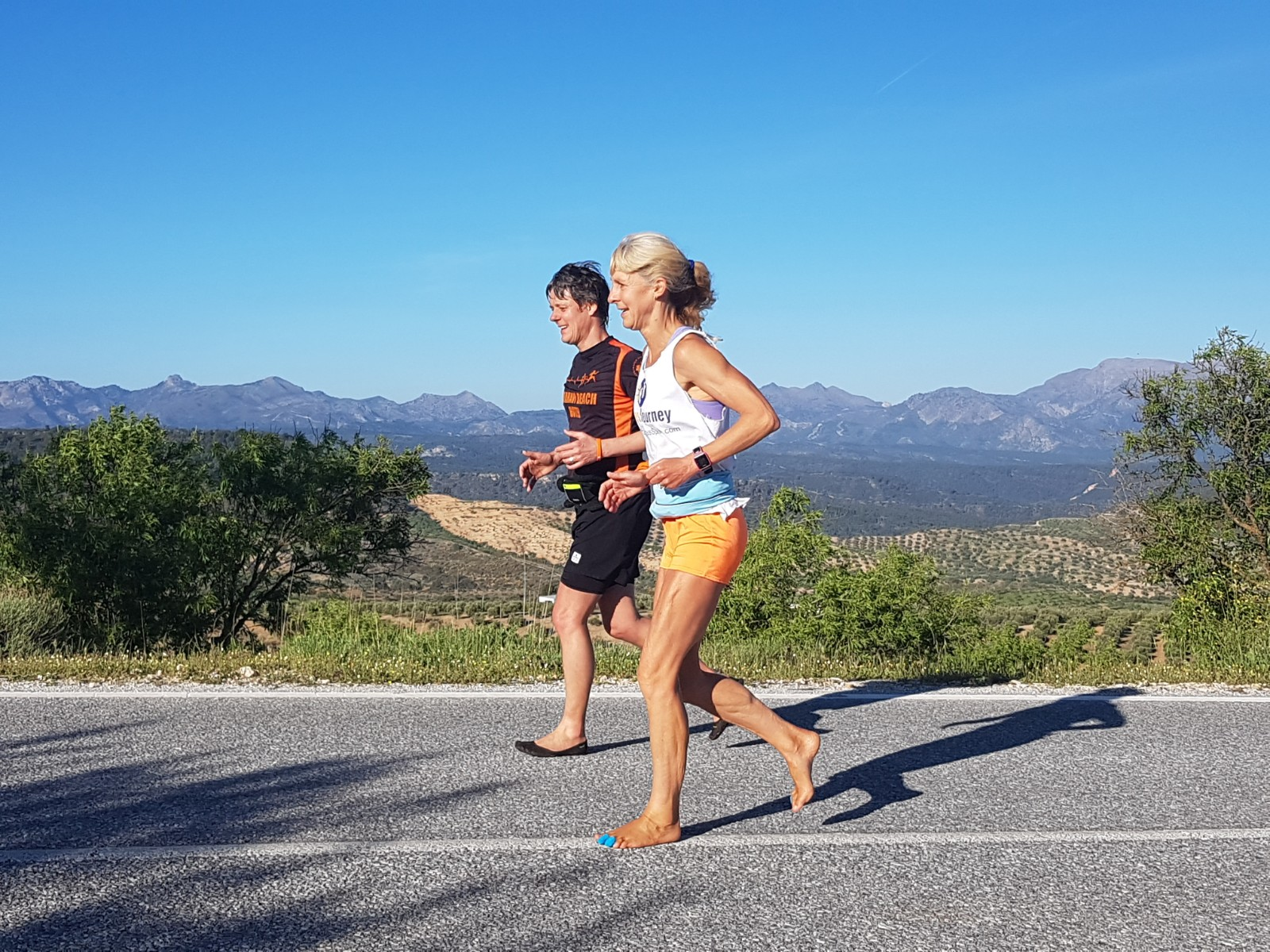 Anadi interviews Julia about her preparation to run Barefoot Across Spain